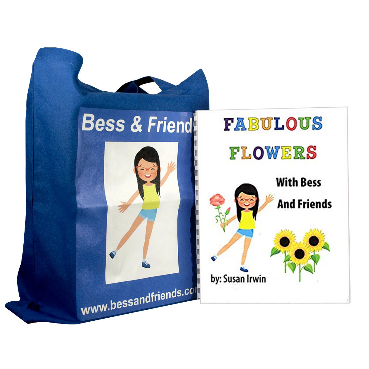 Fabulous Flowers Braille and Scented Book