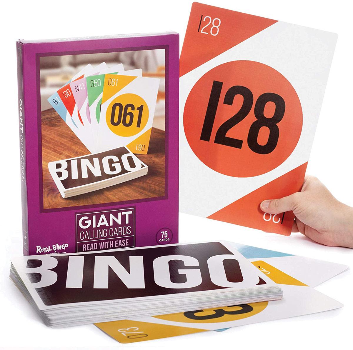 Giant Bingo Calling Cards
