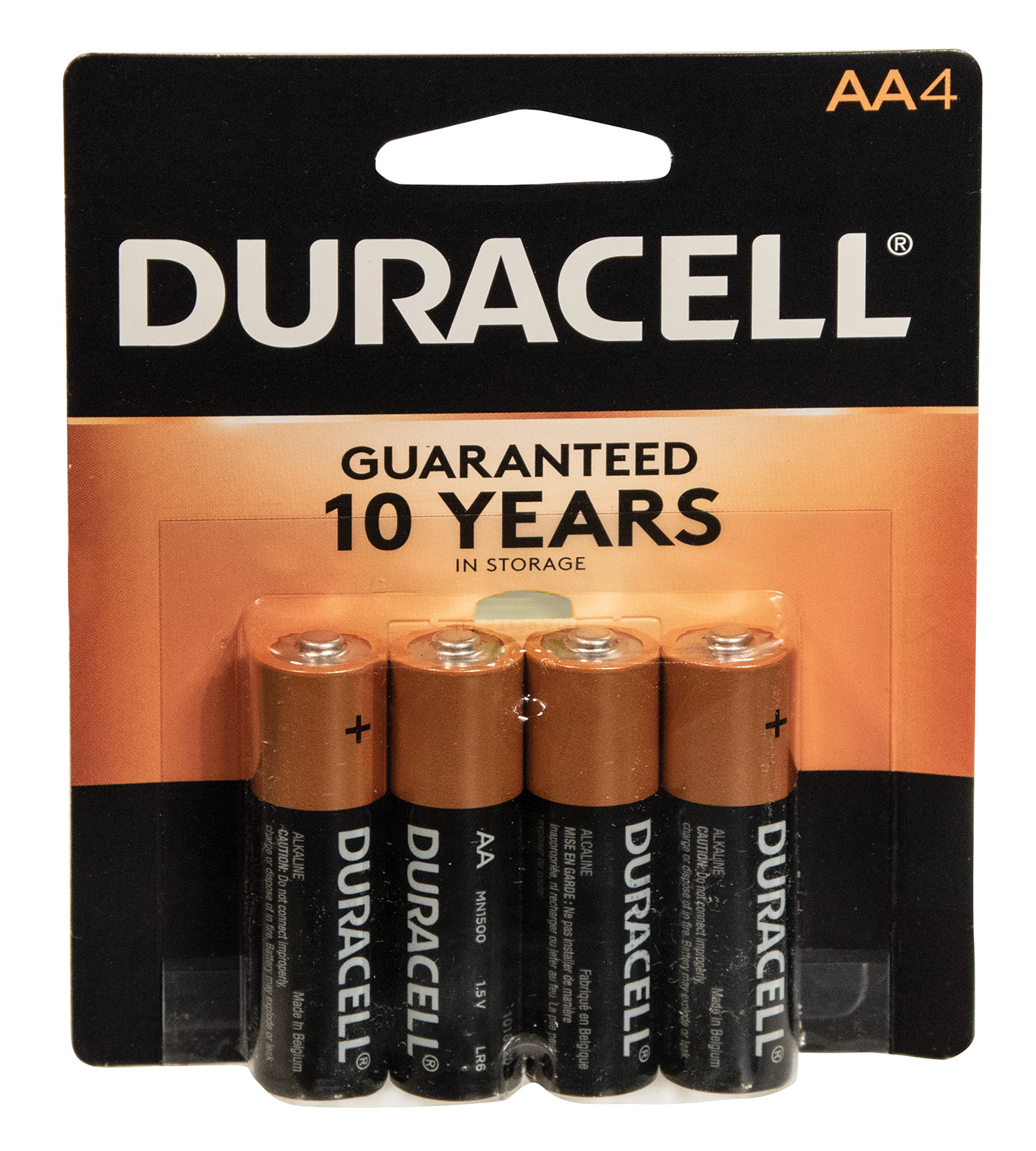 Duracell 4 AA Batteries