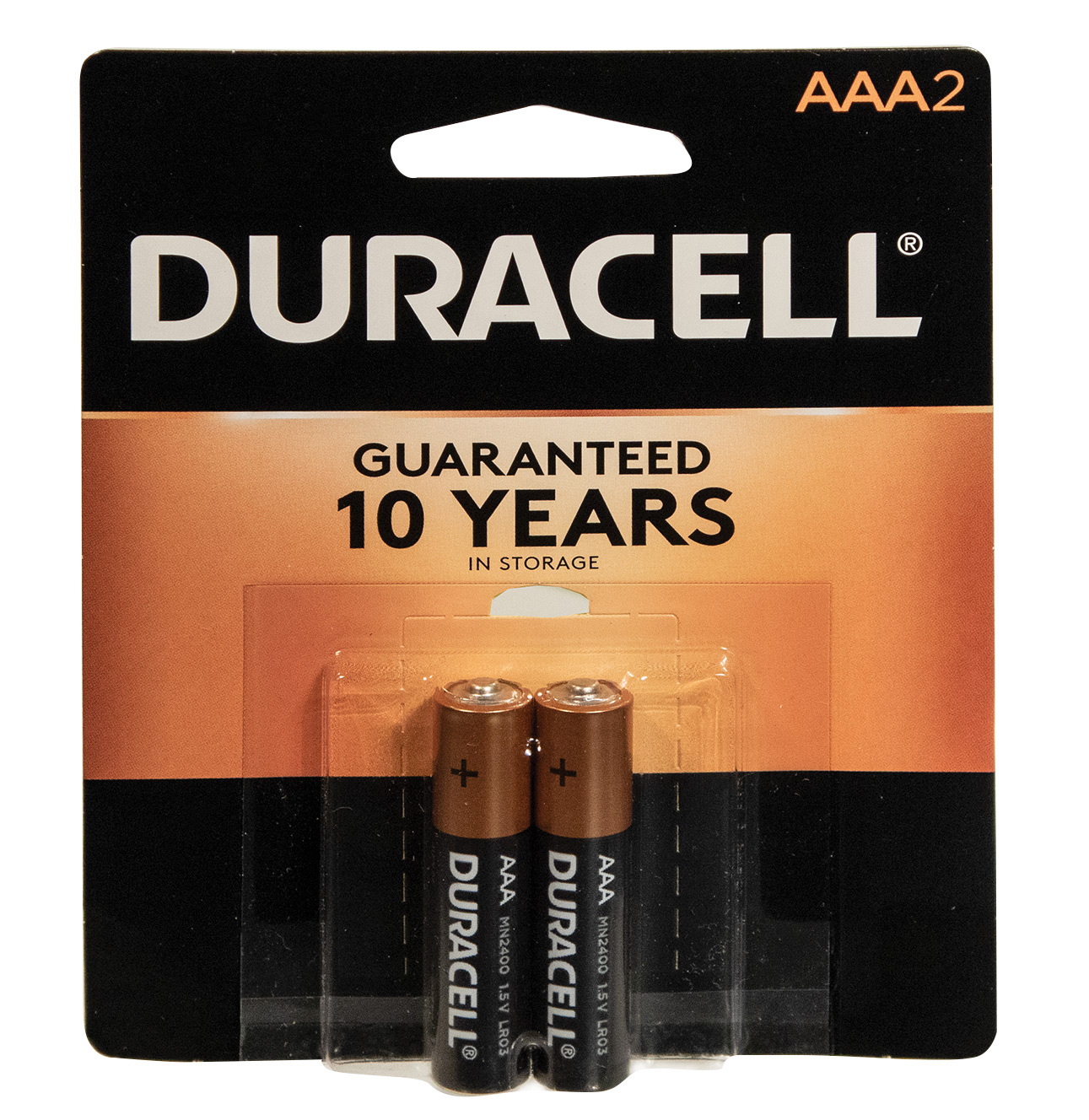Duracell 2 AAA Batteries