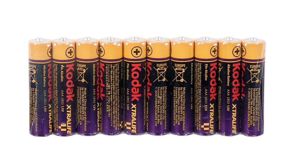 Kodak AAA Batteries- 10 Pack