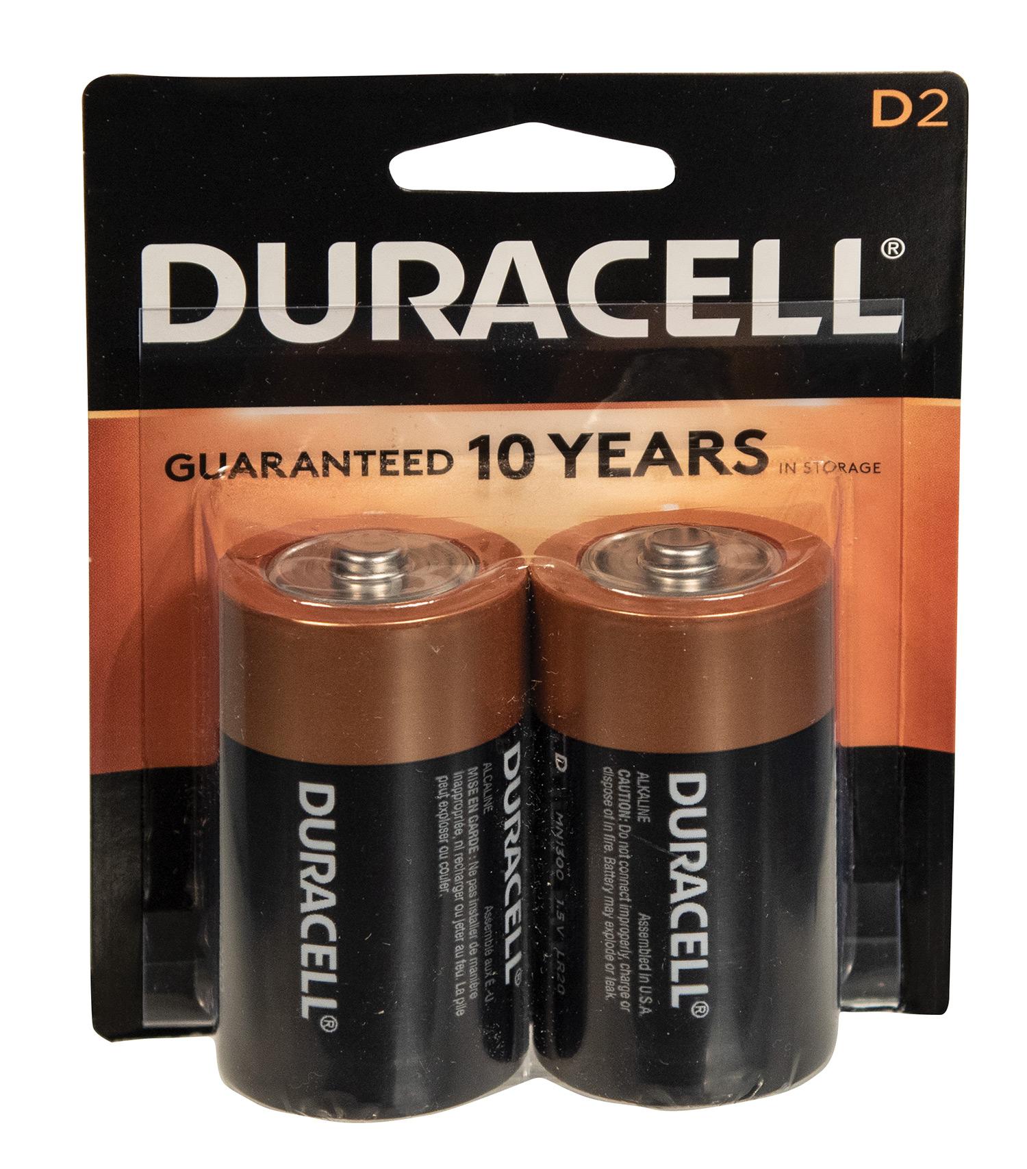 Duracell 2 D Batteries