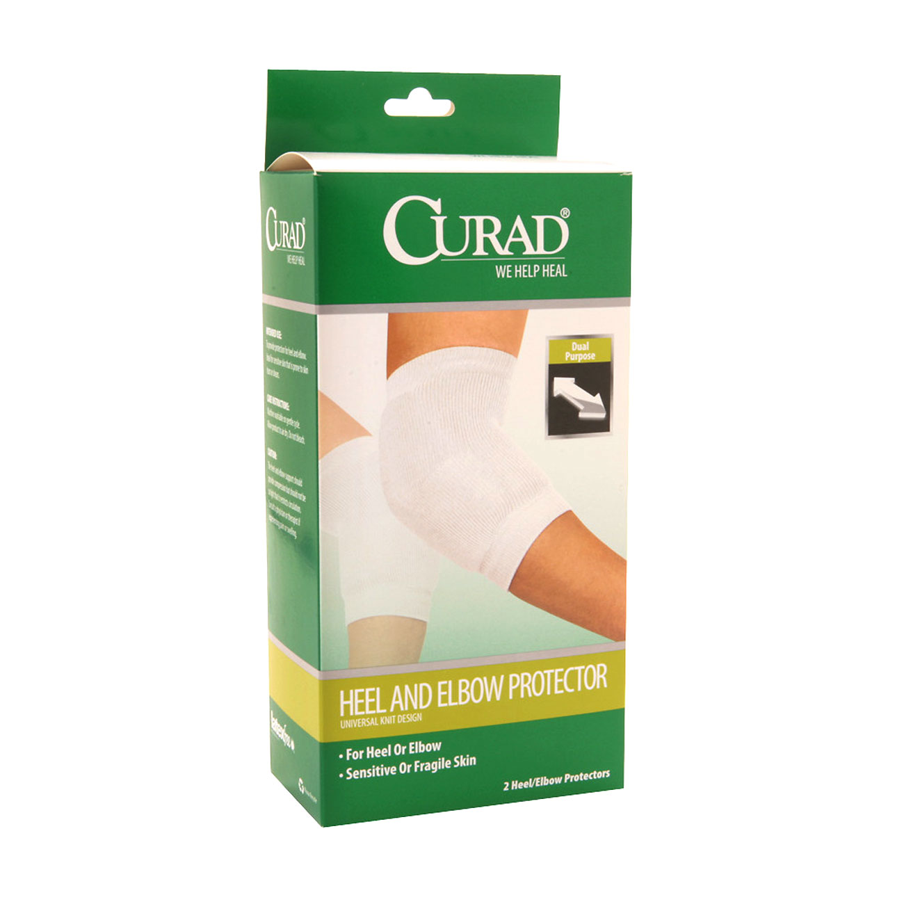 Curad Extensible Knit Heel and Elbow Protector - Universal Size