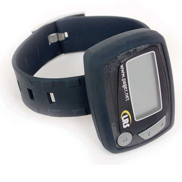 Rubber Wristband for Freedom E467 Battery-Operated Alphanumeric Pager