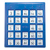 Braille Plastic Bingo Boards -set of 10