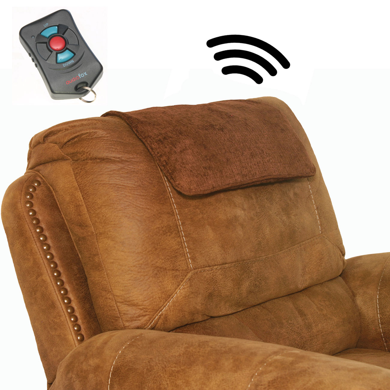 Undercover Wireless TV Speakers - Brown