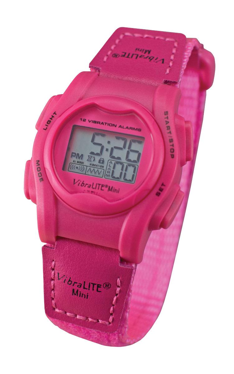 VibraLITE Mini Vibration Watch - Hot Pink