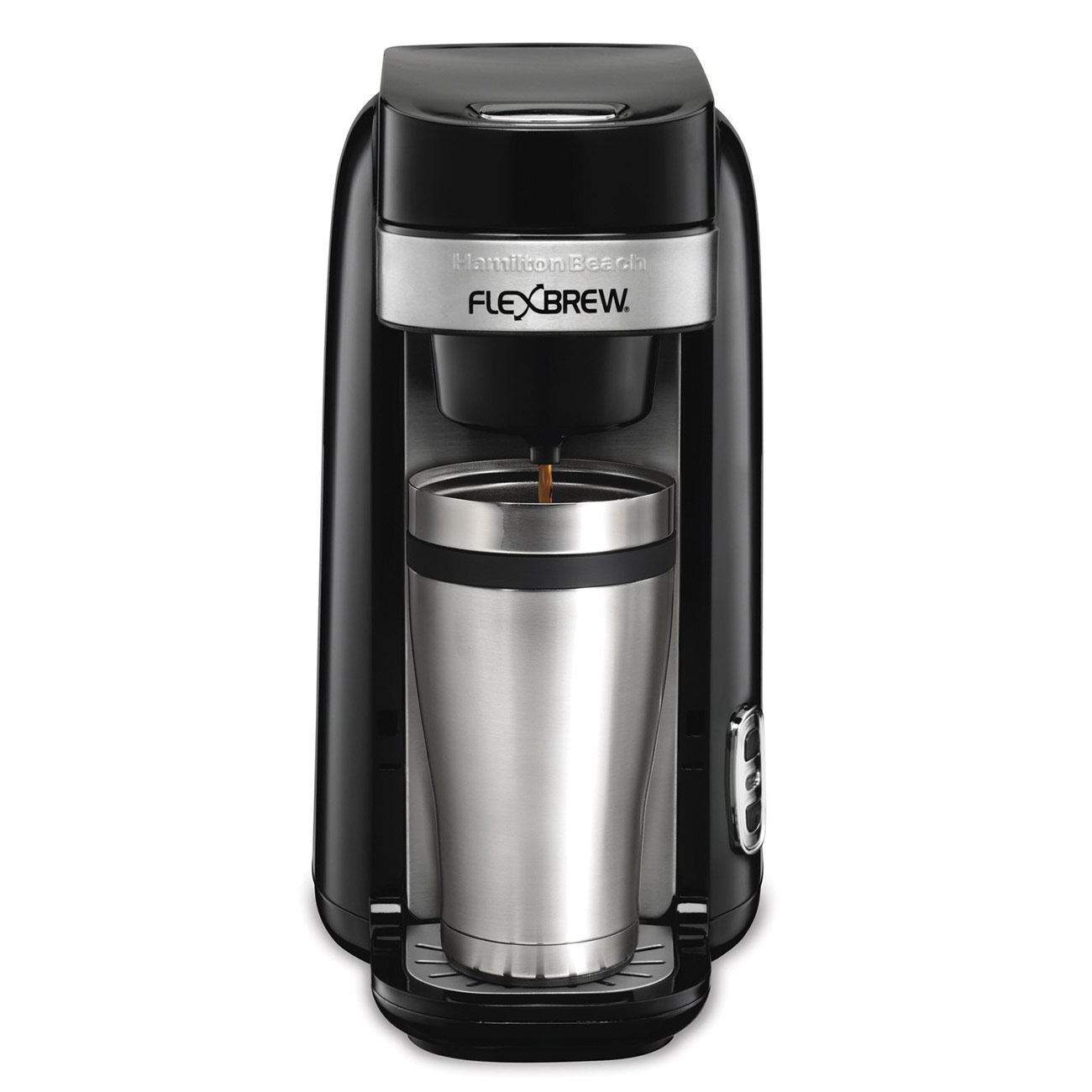 FlexBrew Accessible Single-Serve Coffeemaker