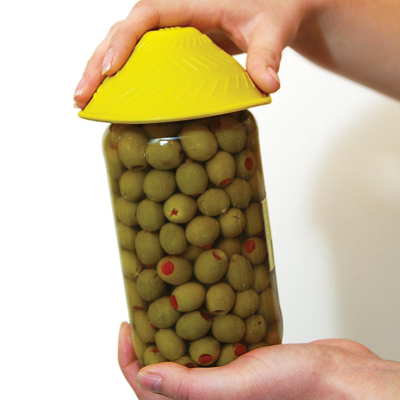 Tenura Jar Opener - Yellow