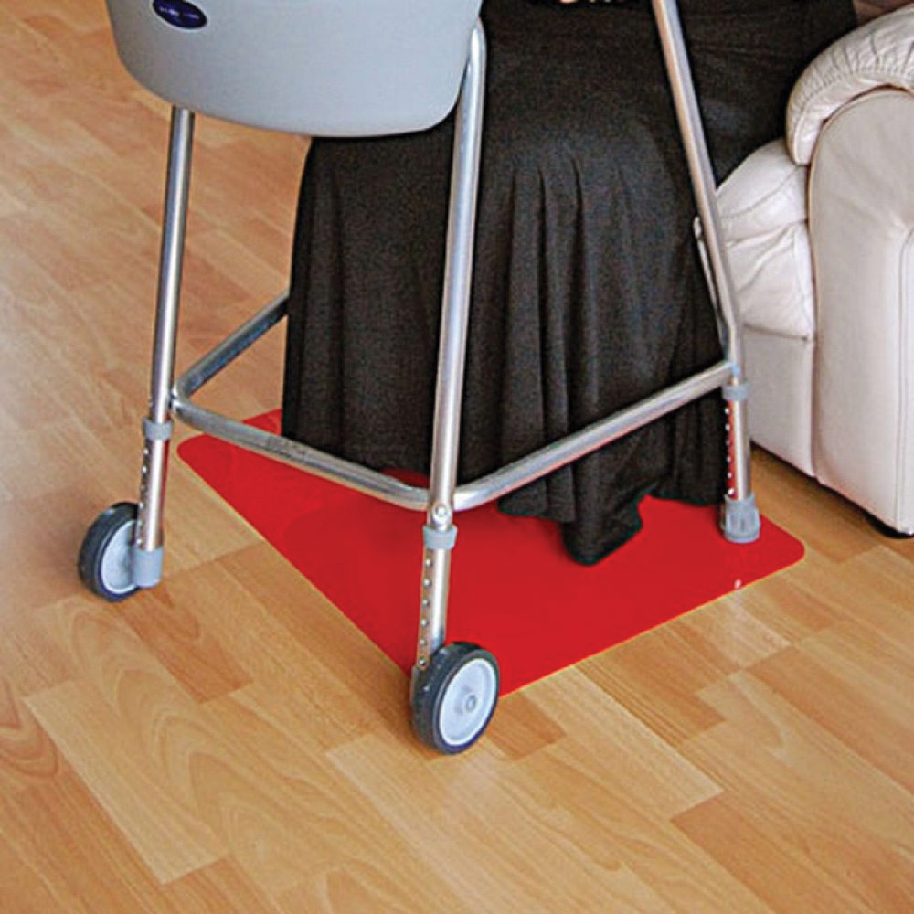 Tenura Non-Slip Floor Mat- Red