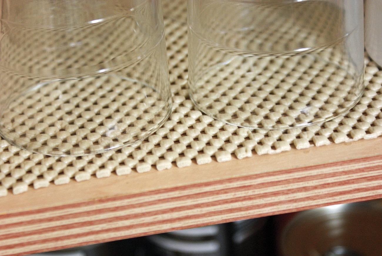 Tenura Non-Slip Fabric Netting - Beige