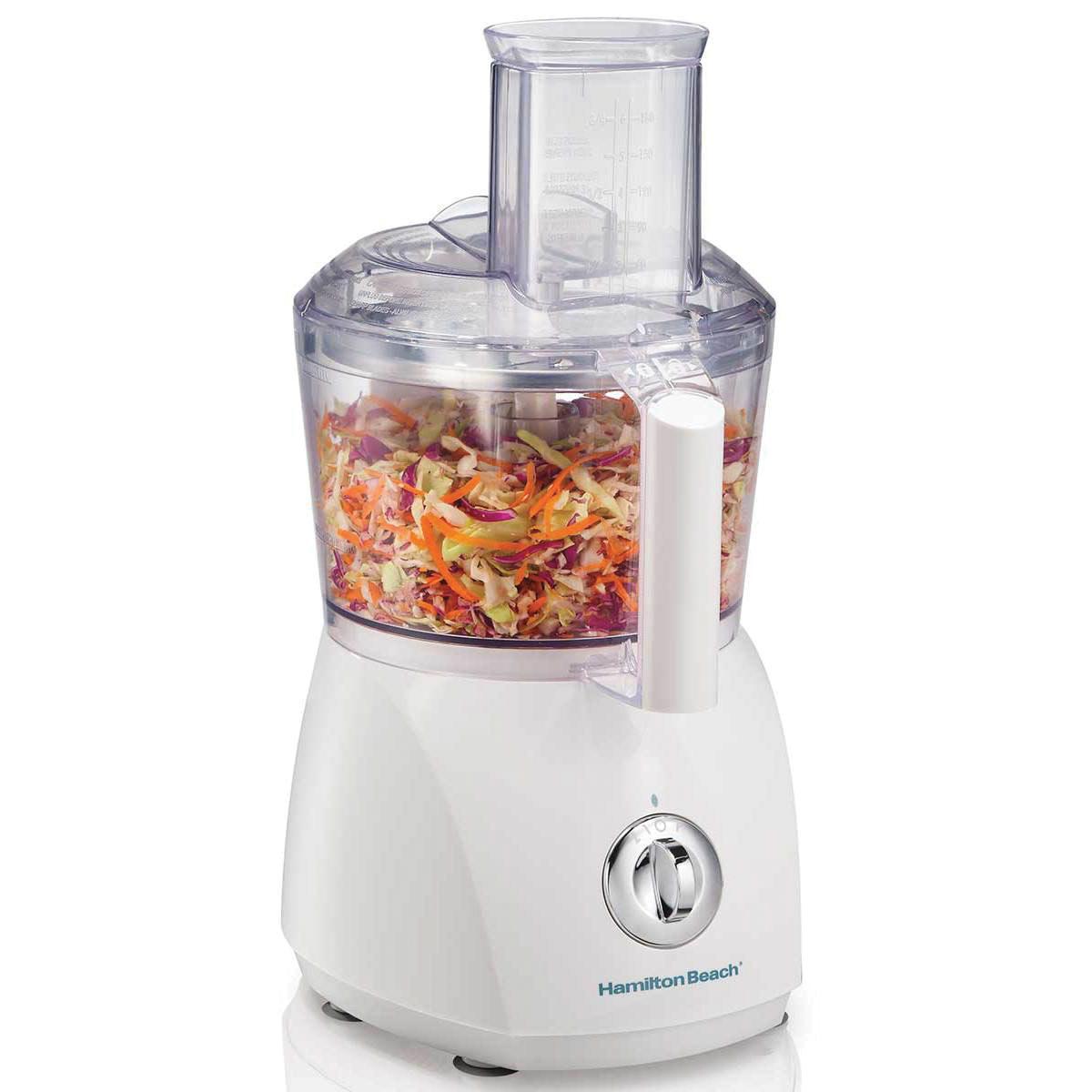 Hamilton Beach ChefPrep 500 Watt 10 Cup Food Processor - White