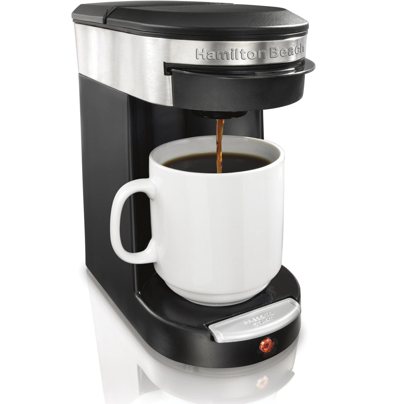 Hamilton Beach Personal Cup One Cup Pod Coffee Brewer
