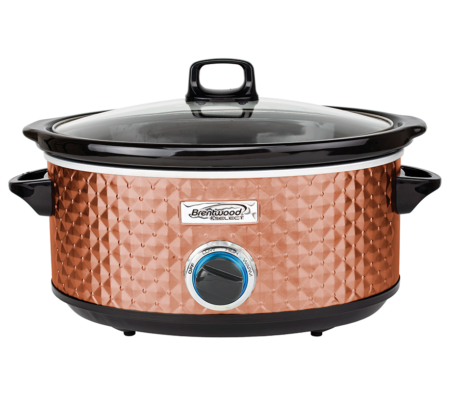 7QT Slow Cooker- Copper