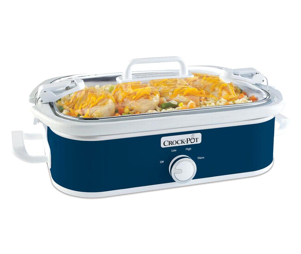 Crock-Pot Original Slow Cooker- Blue