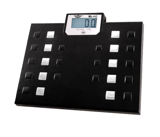 High Capacity 4-Language Talking Digital Scale-440-lb