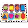 Melissa and Doug Chunky Puzzle Shapes- Tactile with Braille Markings