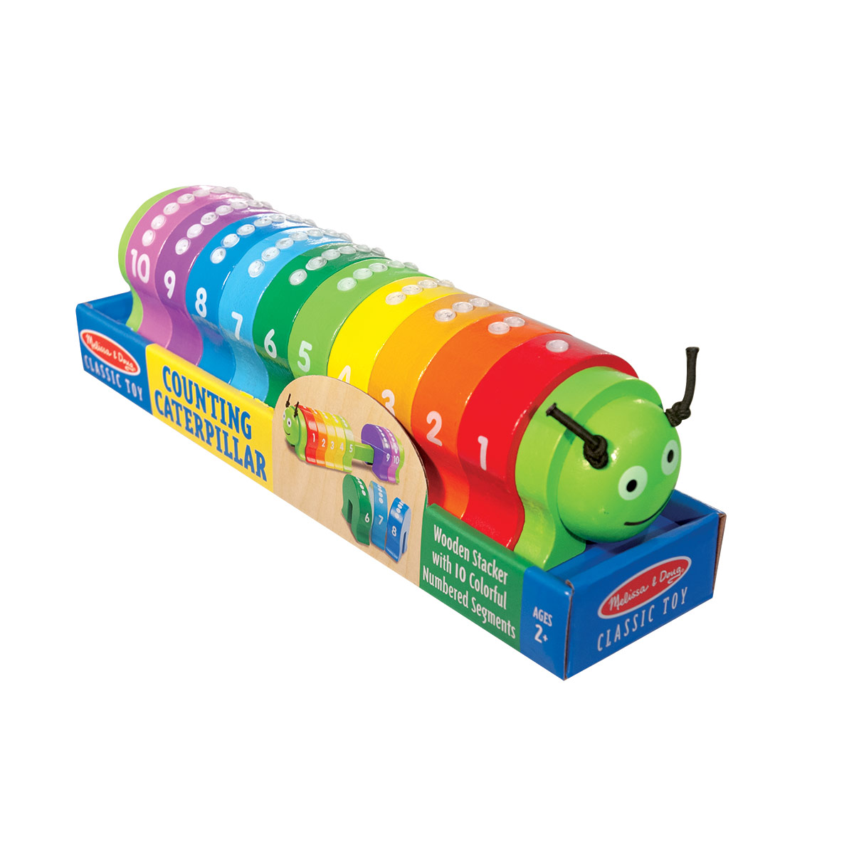 Counting Caterpillar with Braille