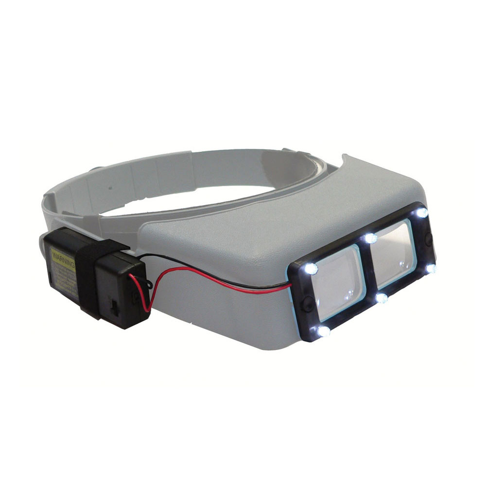 Quasar LED Light Attachment for Optivisor Magnifying Visors