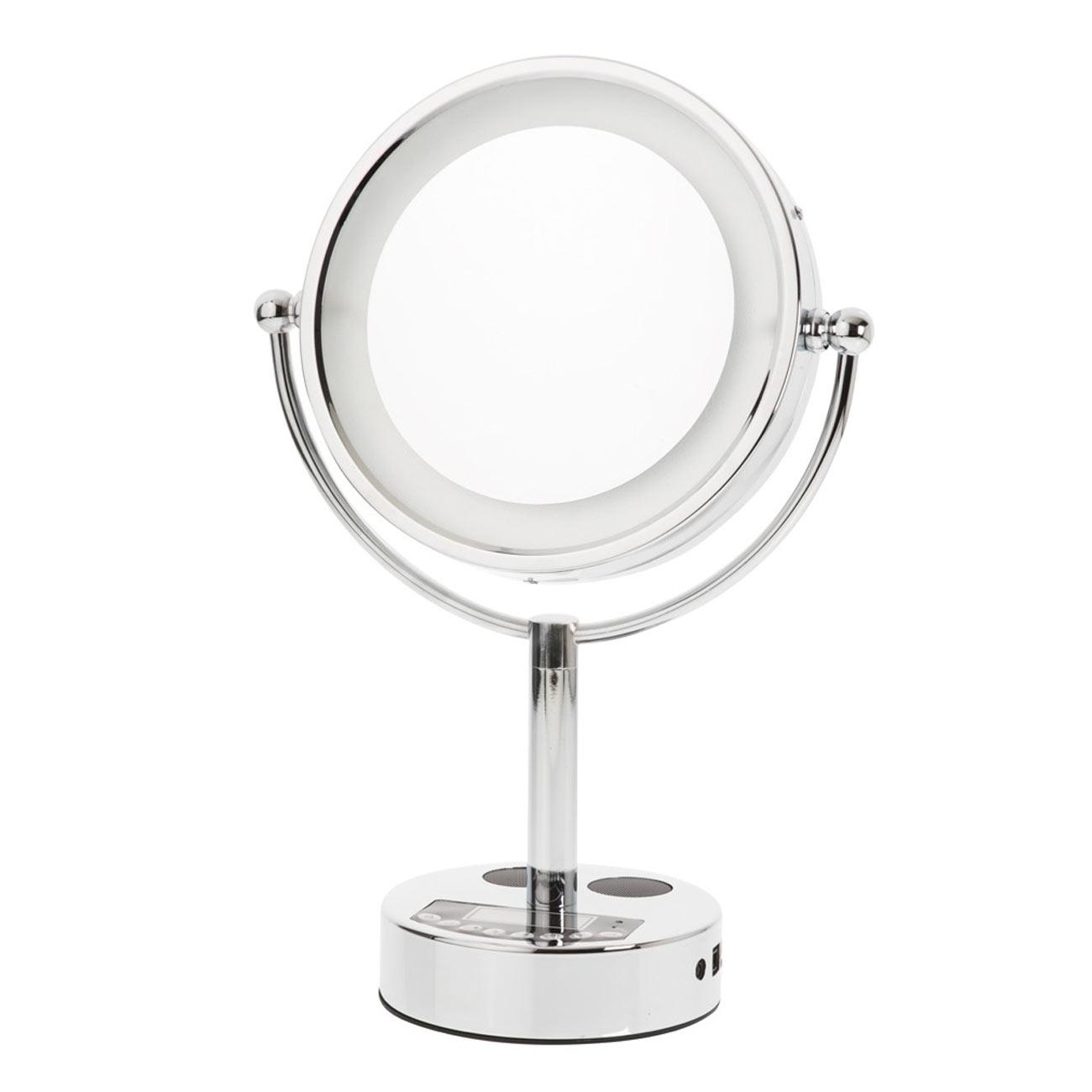Danielle LED Bluetooth Music Mirror - 10x