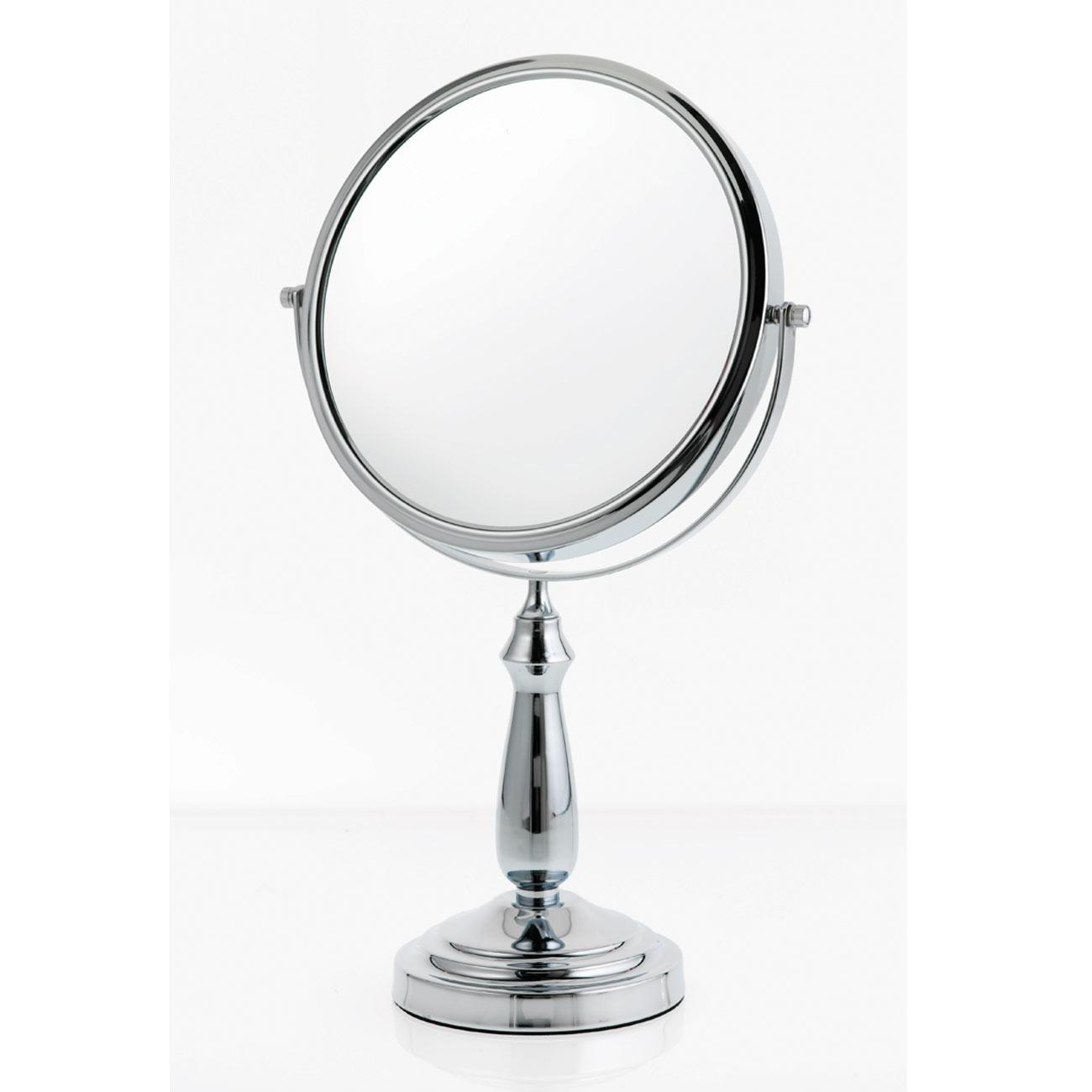 Danielle Large 9 inch Vanity Mirror - Chrome - 10X