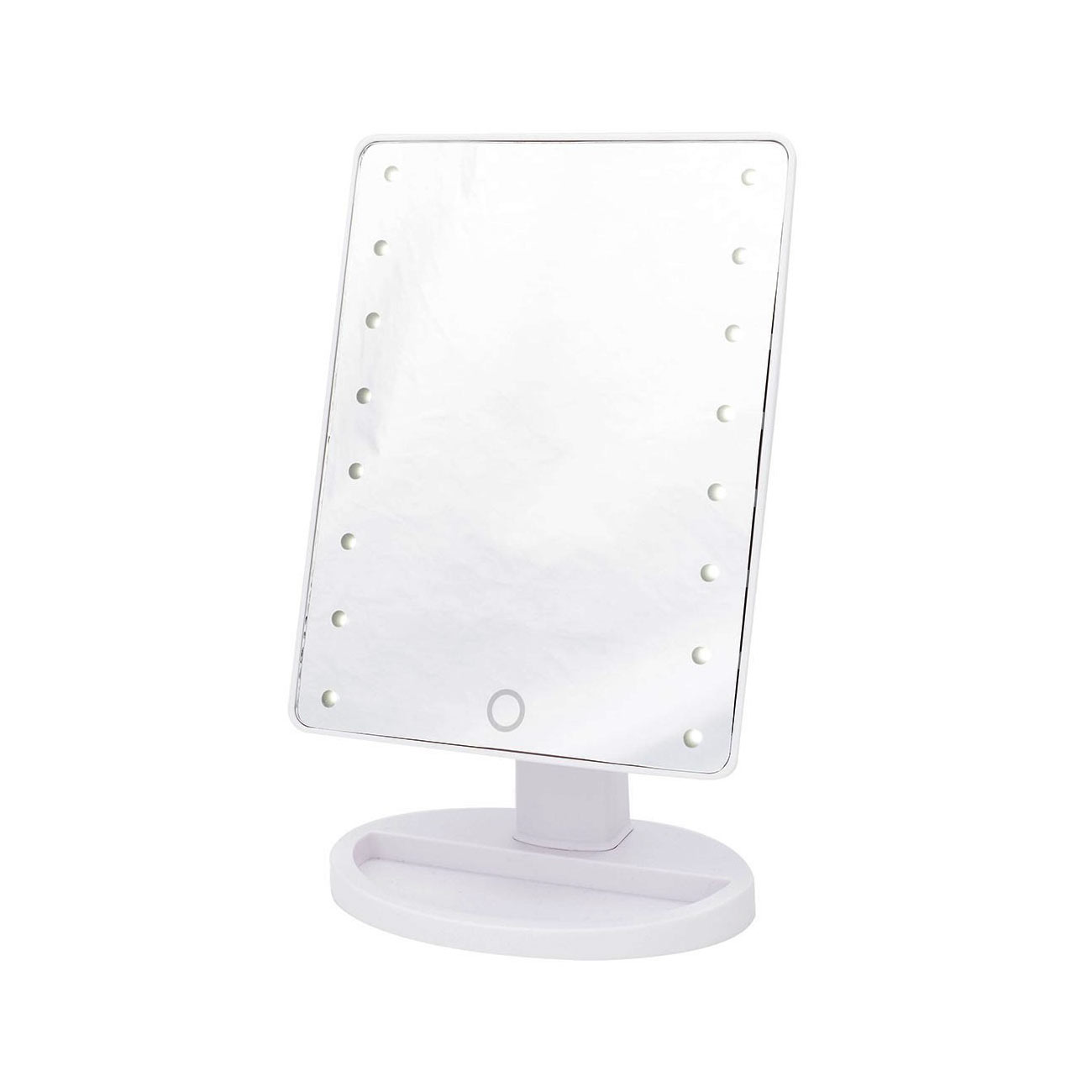 Danielle LED Hollywood Mirror with Touch Dimmer - White