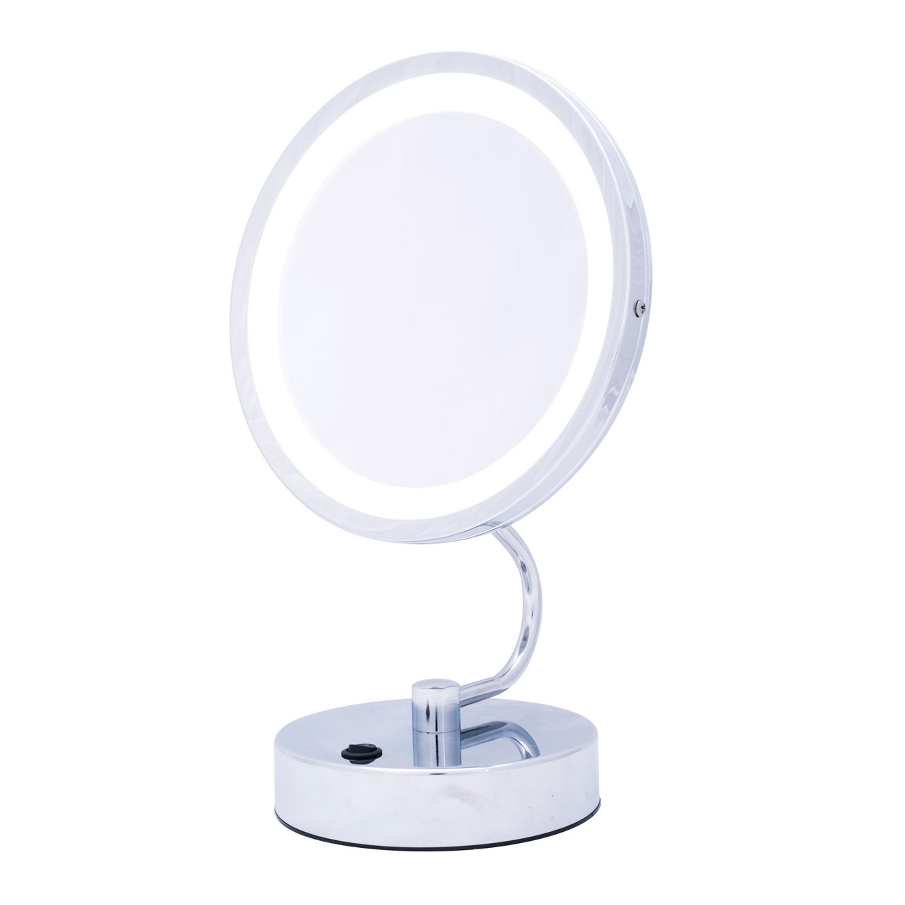 Danielle Foldaway LED Mirror - Chrome 10x