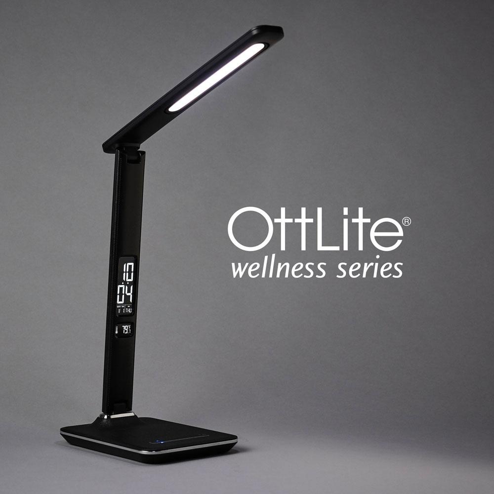Ott-Lite Renew LED Desk Lamp - Black