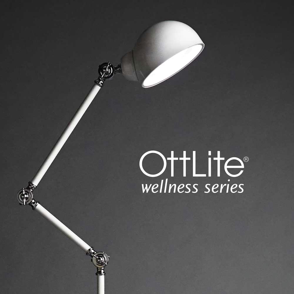 Ott-Lite Revive LED Floor Lamp - White