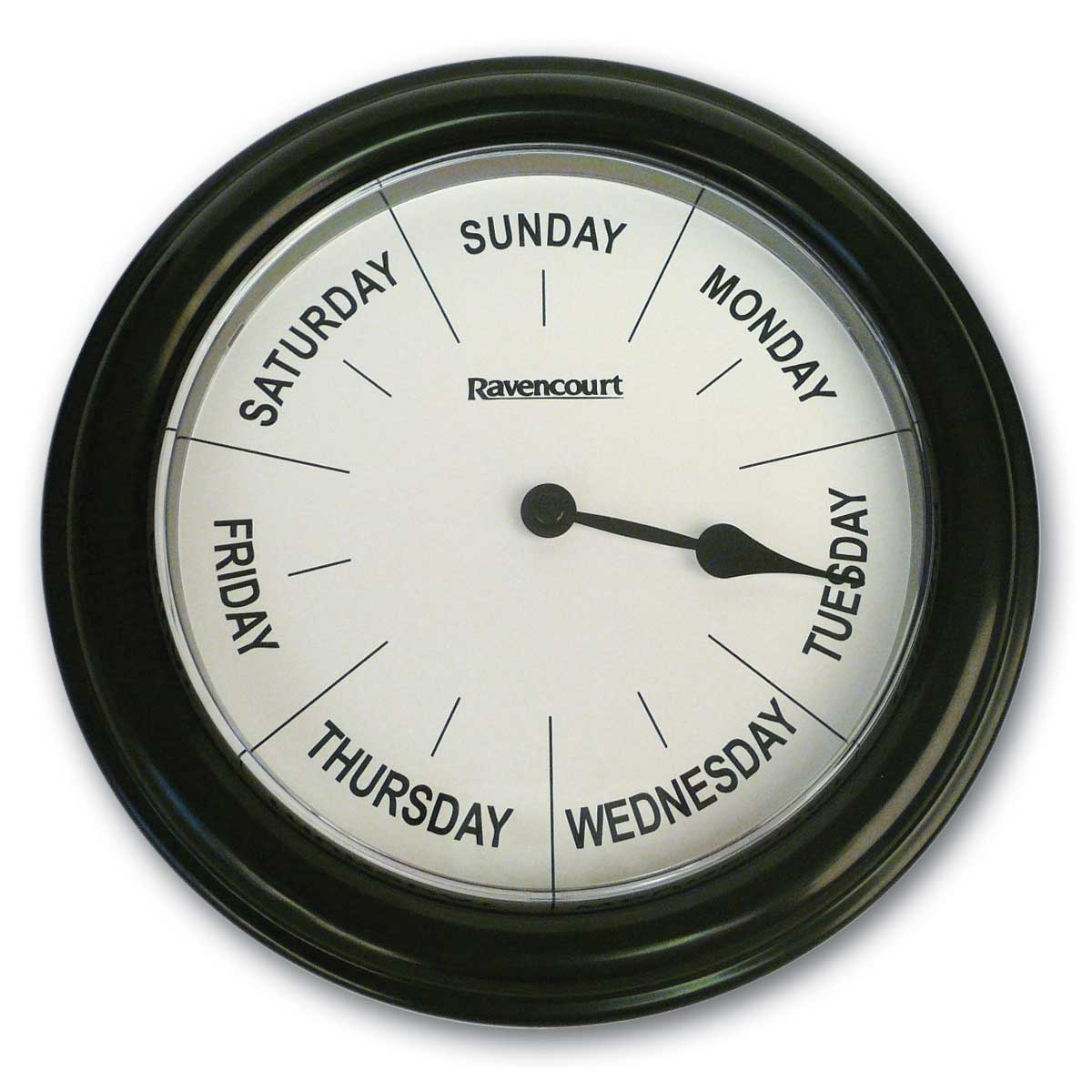 Quartz 8-inch Day Clock