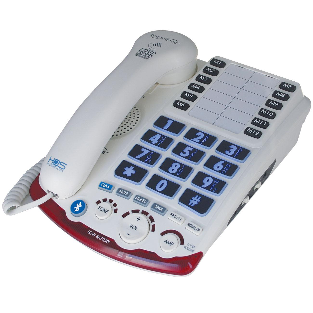 Serene Amplified Desktop Corded Telephone HD-70