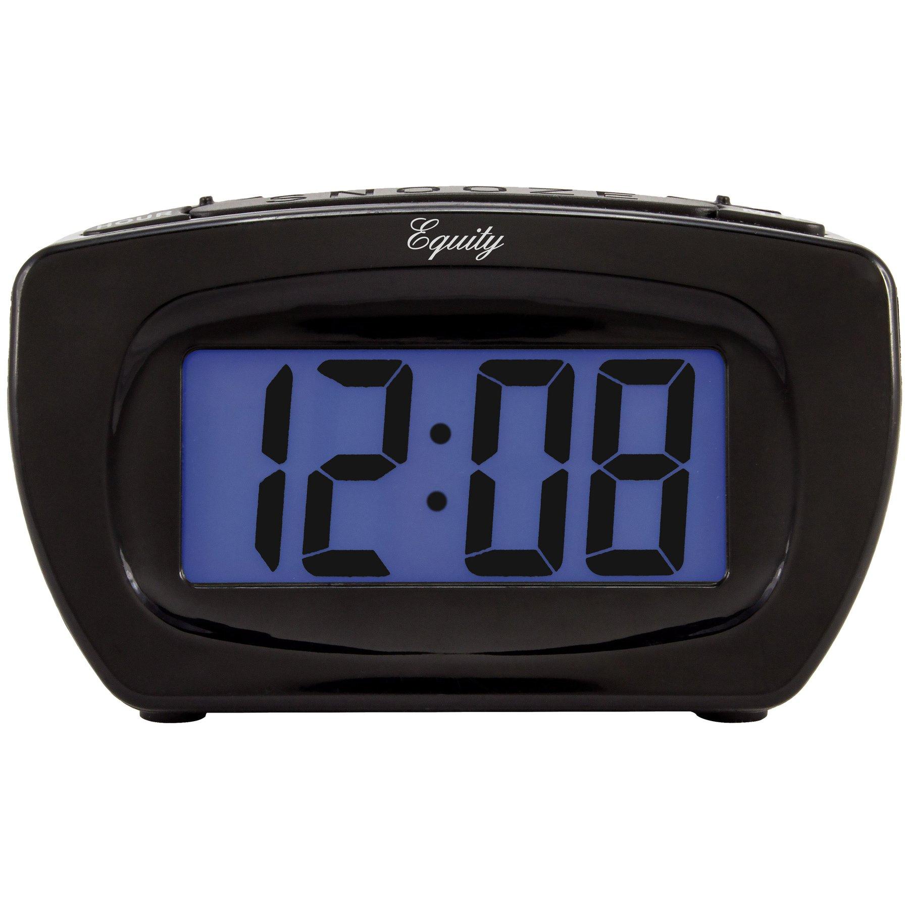 Super-Loud Digital LCD Alarm Clock- 70 or 95 dB