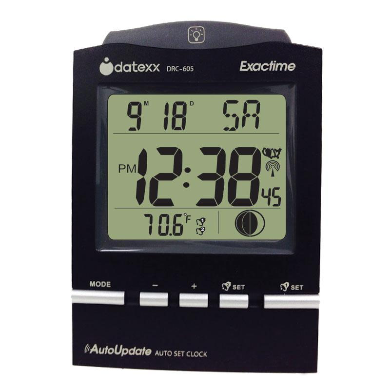 Exactime Desk Clock Temperature Calendar