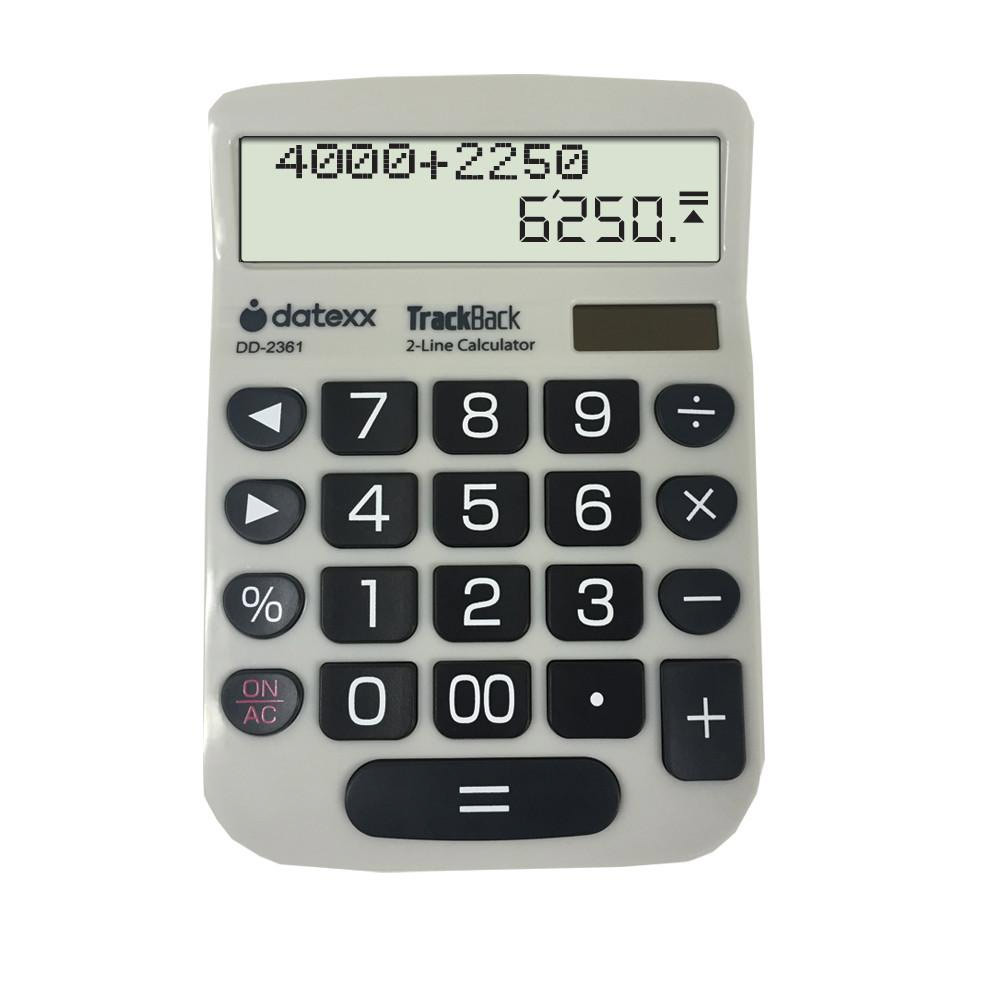 Calculator W2-Linetrack Back