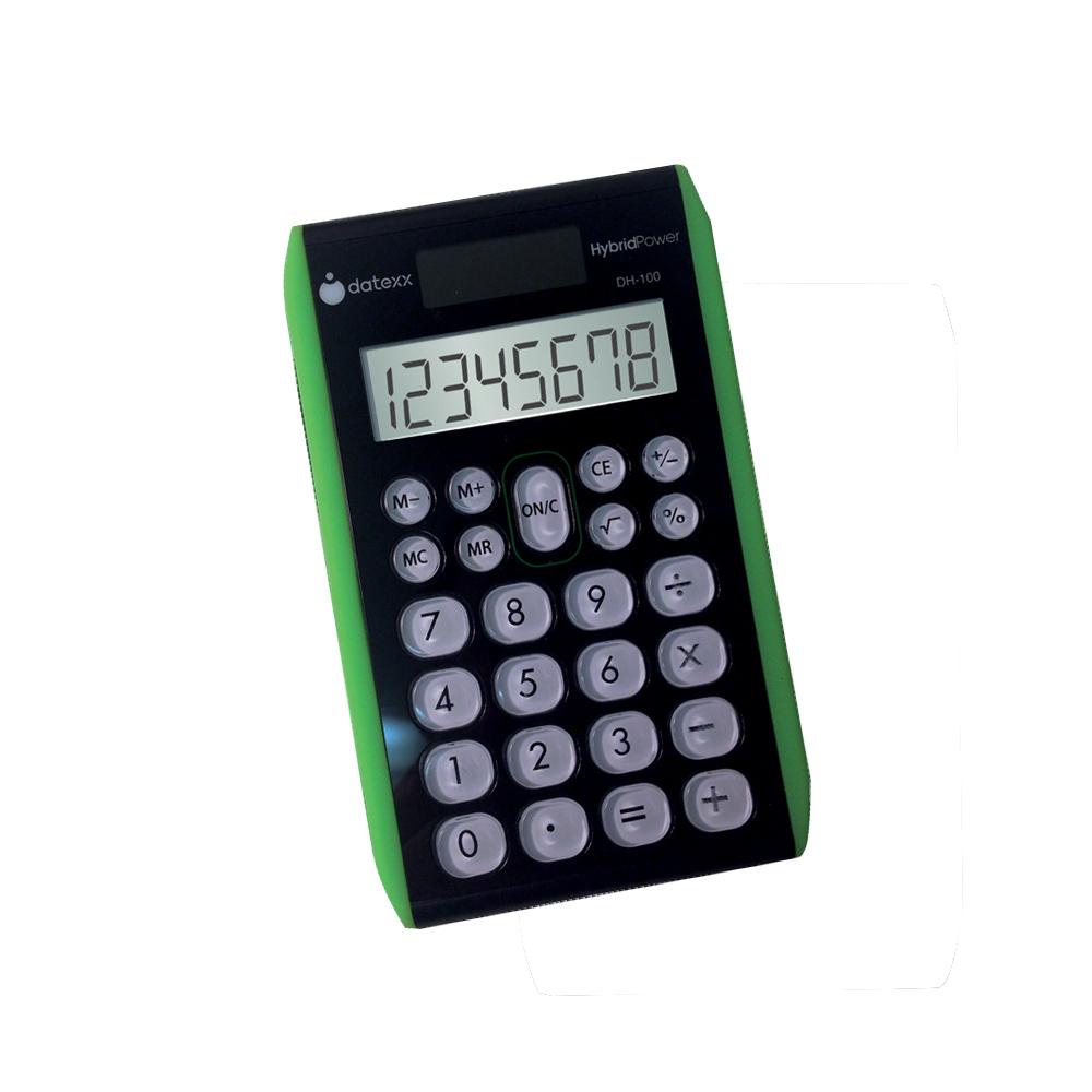 8-Digit Hybrid Slimline Desktop Calculator