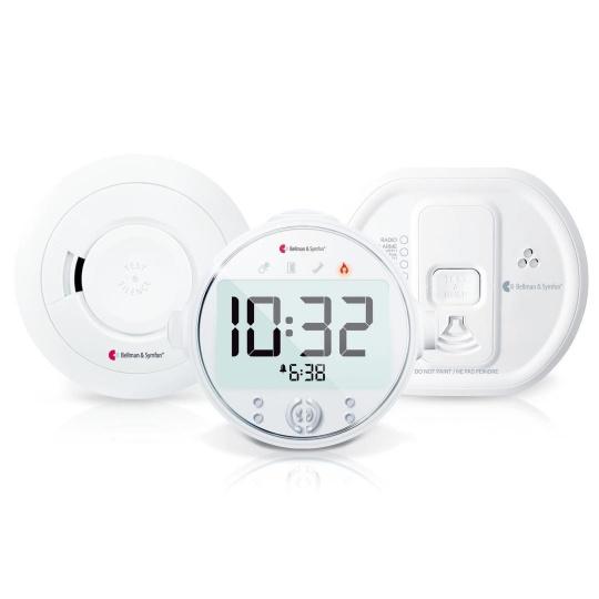 Bellman and Symfon Visit Fire and Carbon Monoxide Safe Value Pack 8