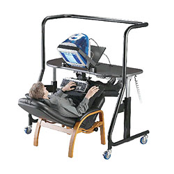 Sit-Stand-Recline Workstation - Model 500