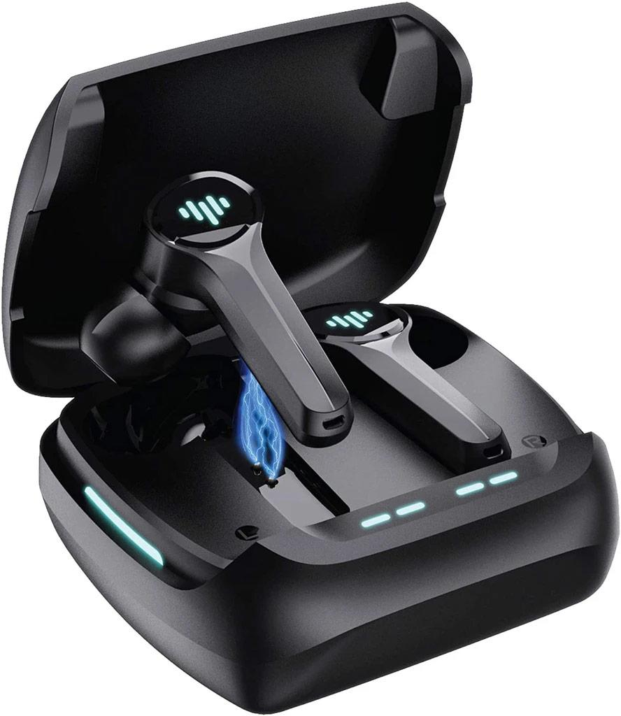Metal Forge TWS Air Gaming Earbuds- Black