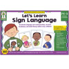 Lets Learn Sign Language Learning Cards