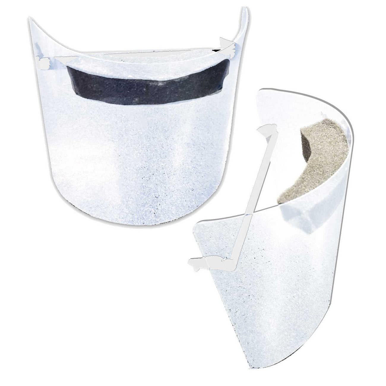 Pandemic Face Shield - Premium Durable Quality - Reusable - 2 Pack