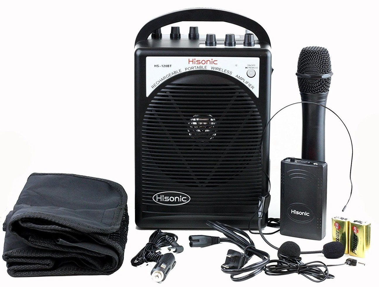 Hisonic Wireless PA System - Black