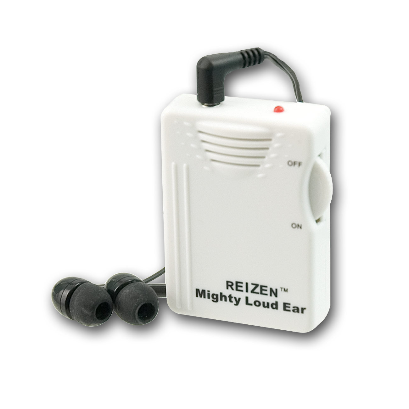 Reizen Mighty Loud Ear 120dB Personal Sound Hearing Amplifier