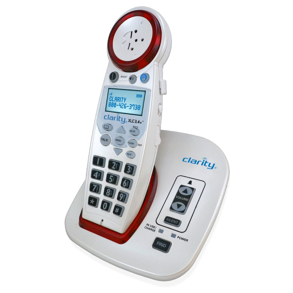 Clarity XLC3.4+ Amplified Big Button Speakerphone