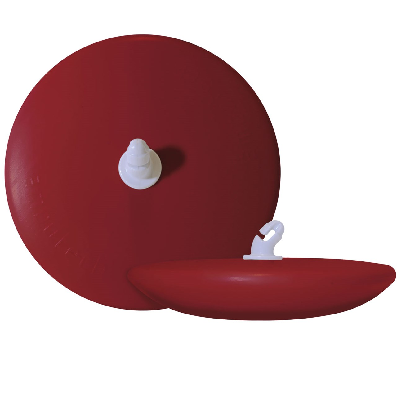Ambutech Dakota Disk Cane Tip - Red