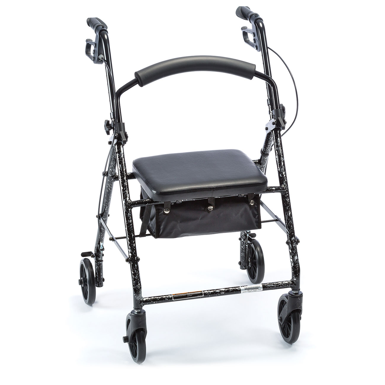 Aluminum Rollator - Flame Silver