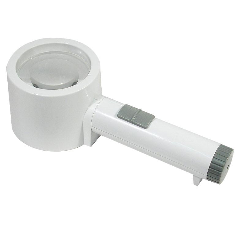 Reizen Maxi-Brite LED Stand Magnifier - 12X 44D