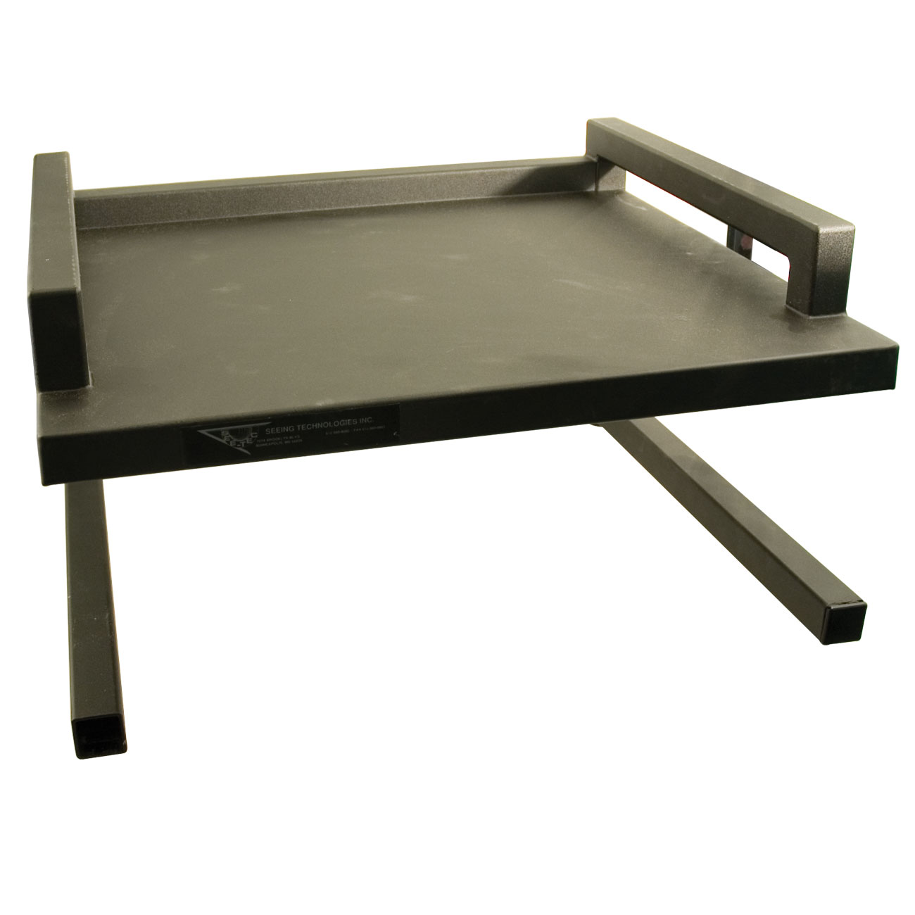 Monitor Stand - Black Metal