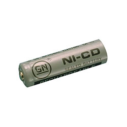 Rechargeable 1.2 NiCd AA Battery